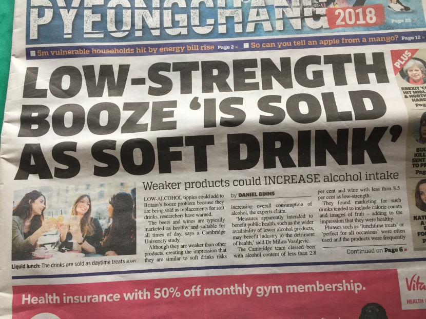 Metro Headline a bit 'Low Strength'
