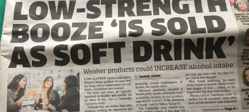Metro Headline a bit 'LowStrength'
