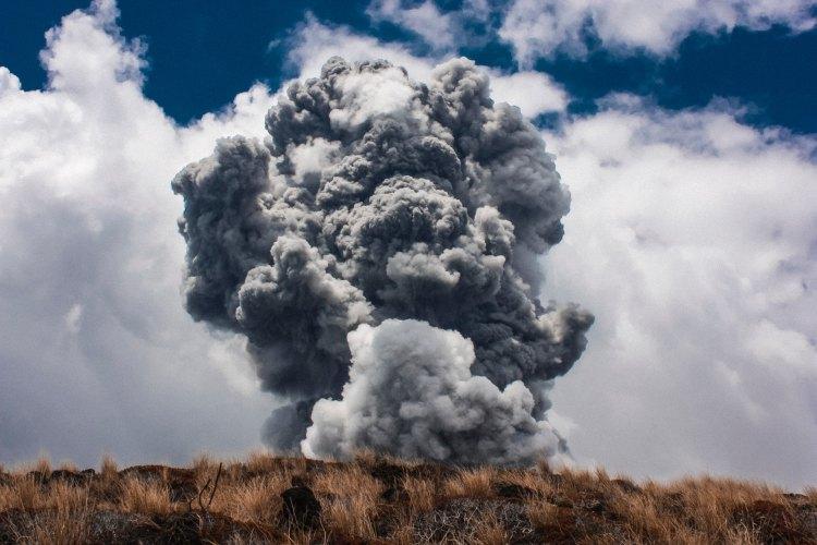 Explosion - Photo by Jens Johnsson on Unsplash
