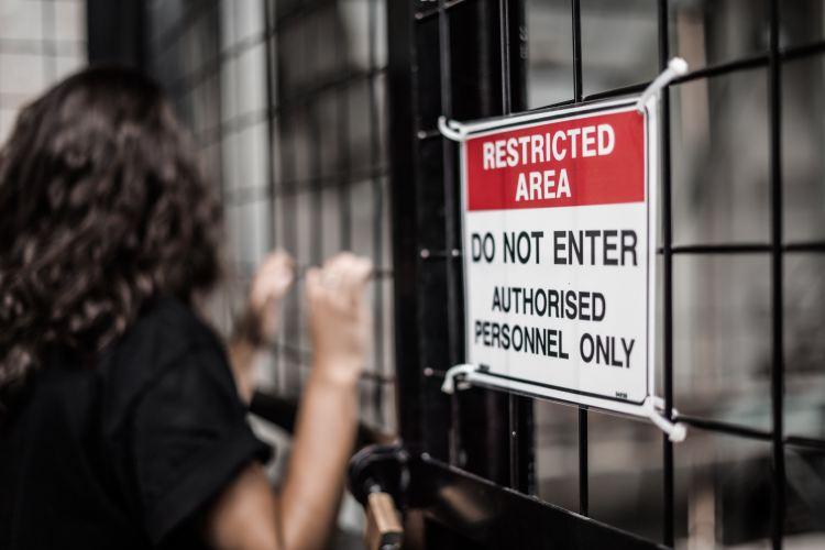 Restricted Area - Photo by Kelli McClintock on Unsplash