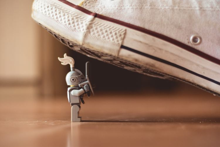 Under Foot - Photo by James Pond on Unsplash
