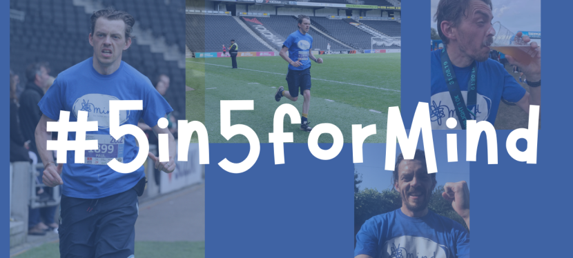 5 in 5 for Mind – Challenge Update.